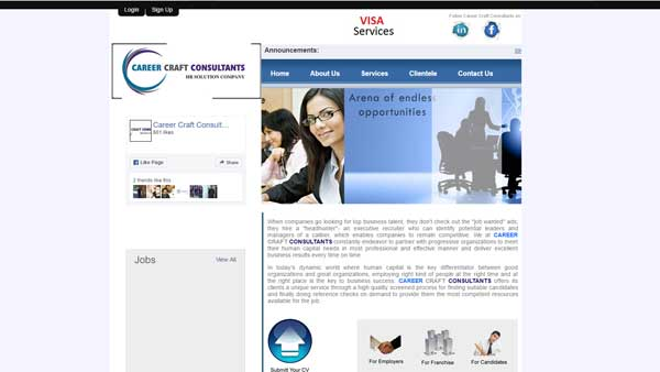 Career Craft Consultants - Online Job Portal